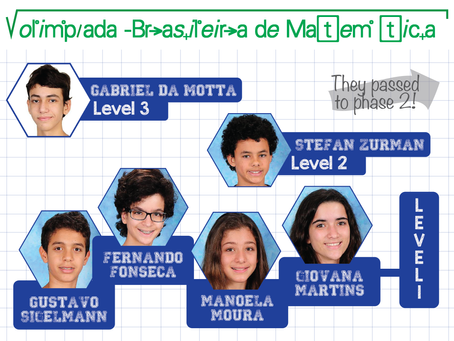 Nations' Students Pass First Phase of Brazilian Mathematics Olympics