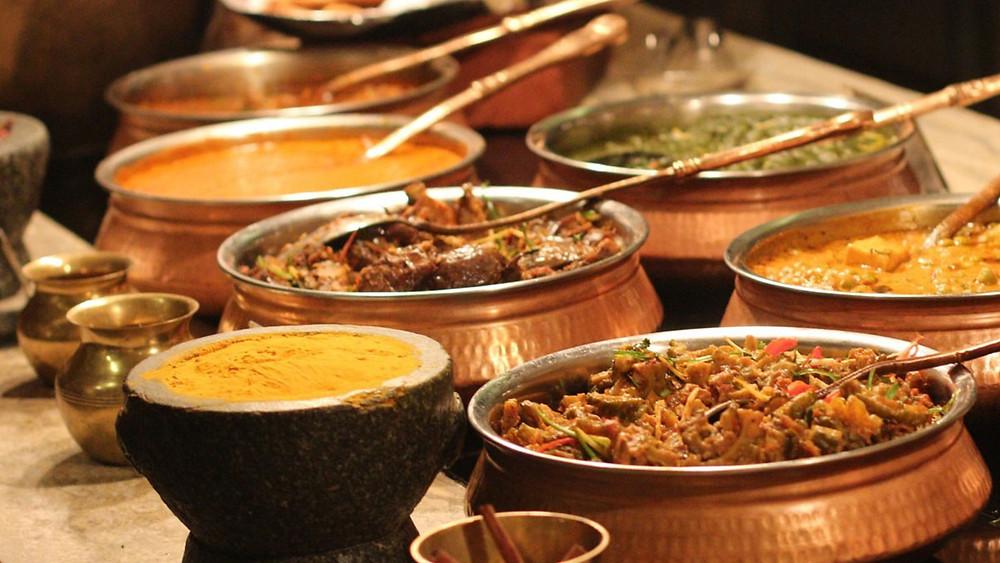 Mughal meals