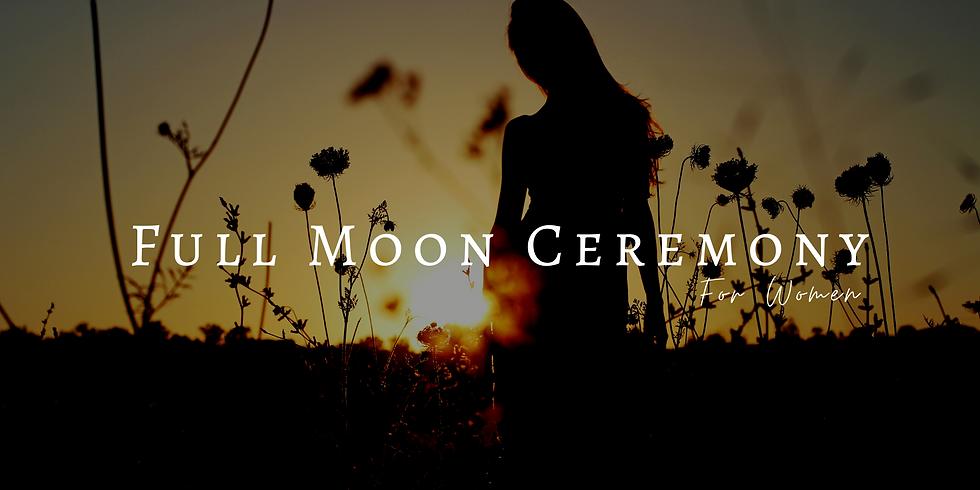 Full Moon Ceremony - Welcoming balance