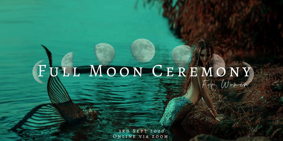 Full Moon Ceremony for Women - ONLINE