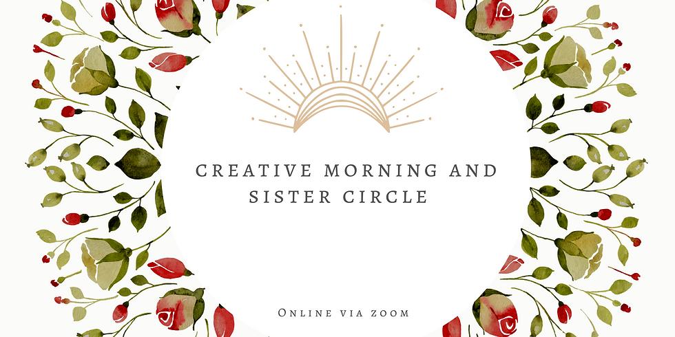 Creative Morning & Sister Circle Online