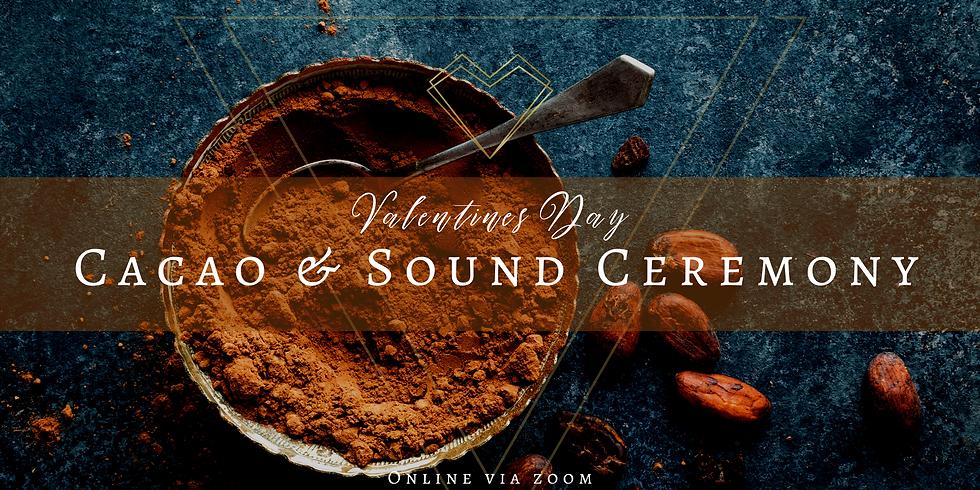 Valentines Day Cacao & Sound Journey online