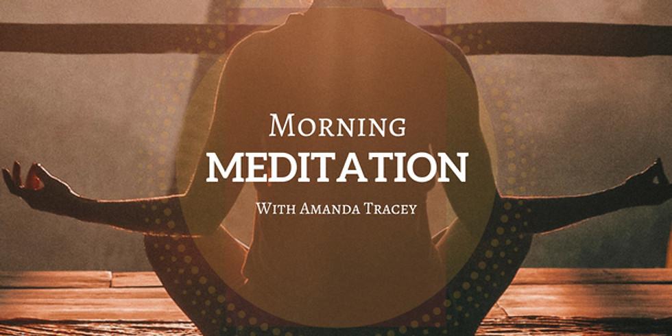 Morning Meditation at Ribizli Cafe