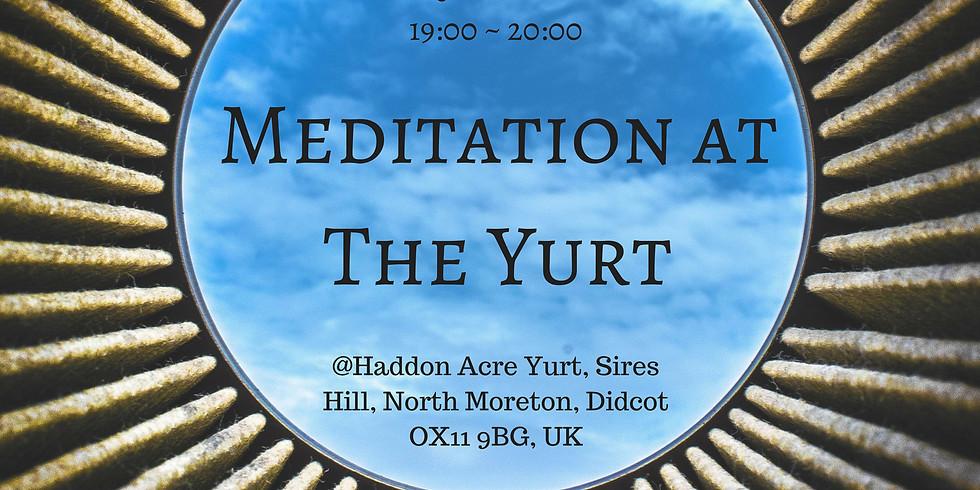 Meditation at the Yurt