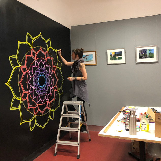Wall Mural process