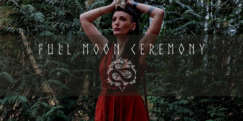 Full Moon Ceremony at the Yurt!