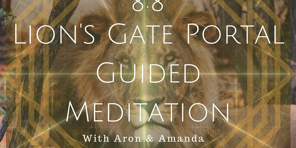 Meditation at the Yurt - 8:8 Lions Gate Portal