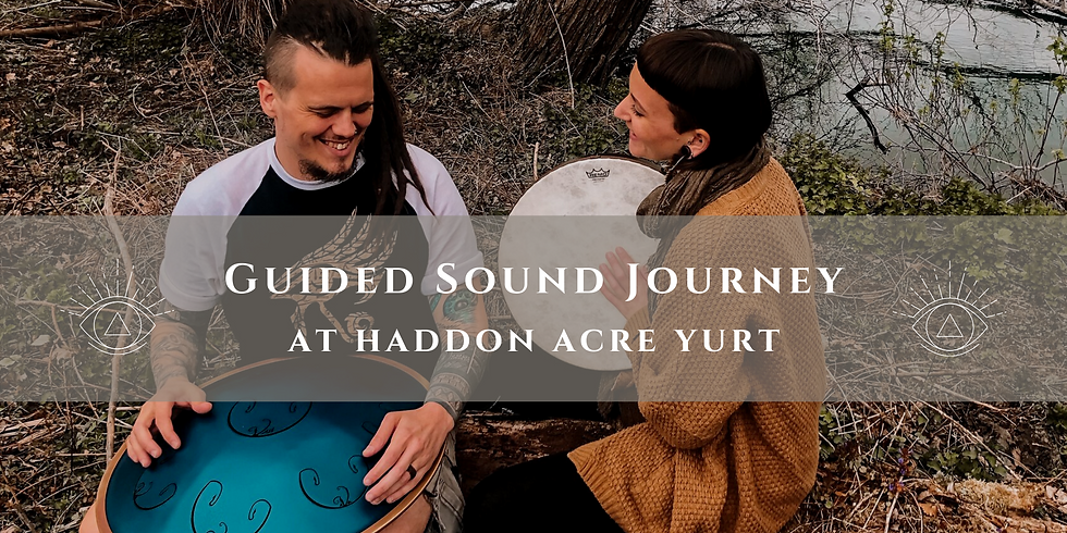 Guided Sound Journey at The Yurt