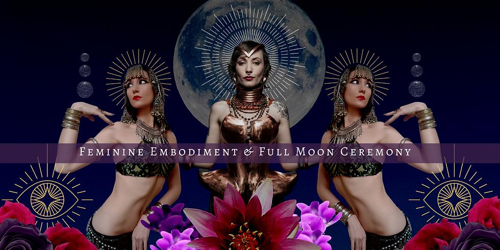 Feminine Embodiment & Full Moon Ceremony online