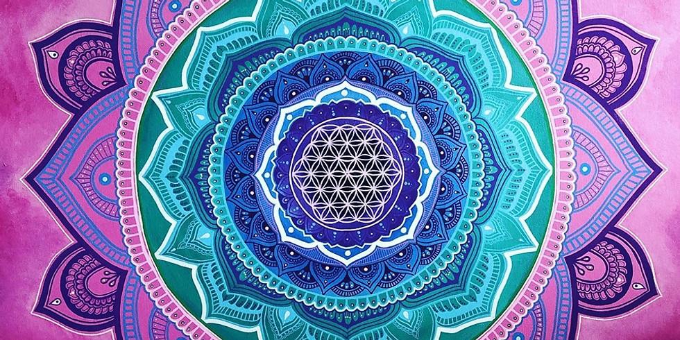 Mandala Art Exhibition at The Cornerstone