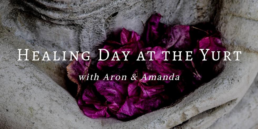 Healing Day at The Yurt - November