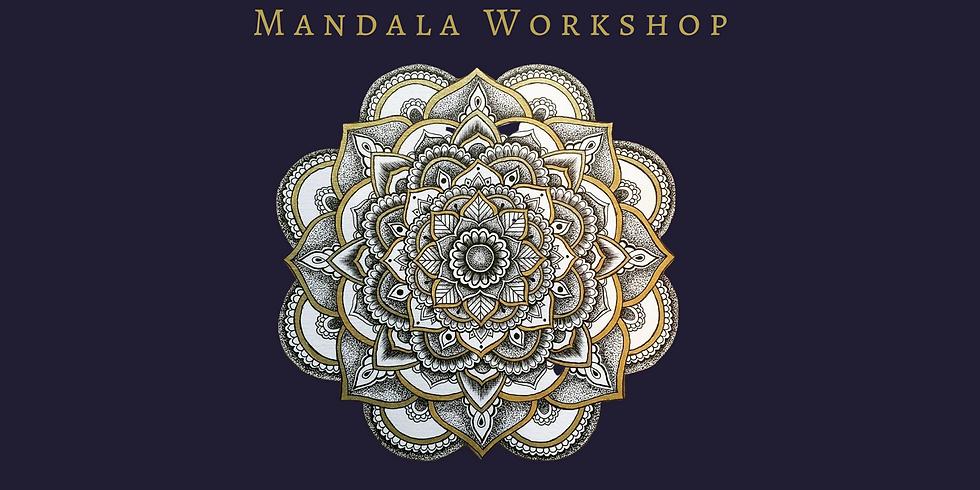 Mandala Workshop at Santosha