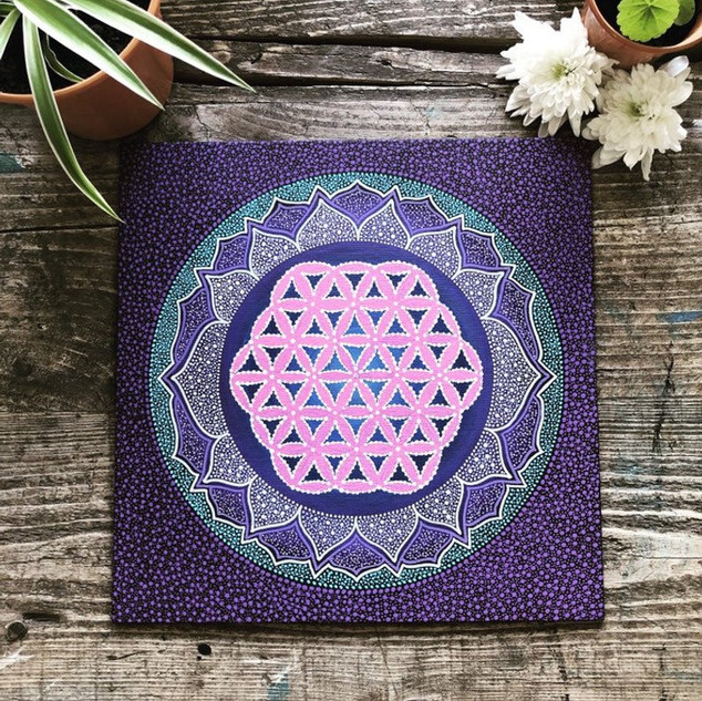'Flower of life mandala'