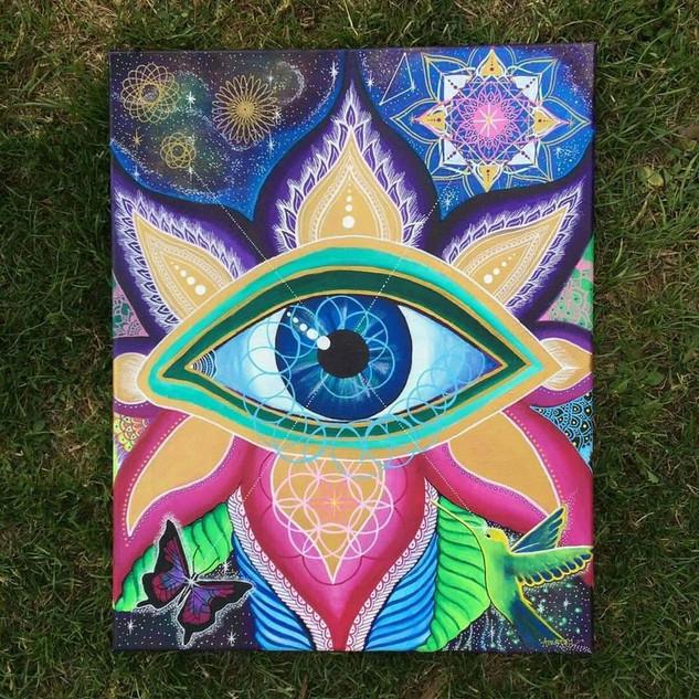 'Eye am the Universe'