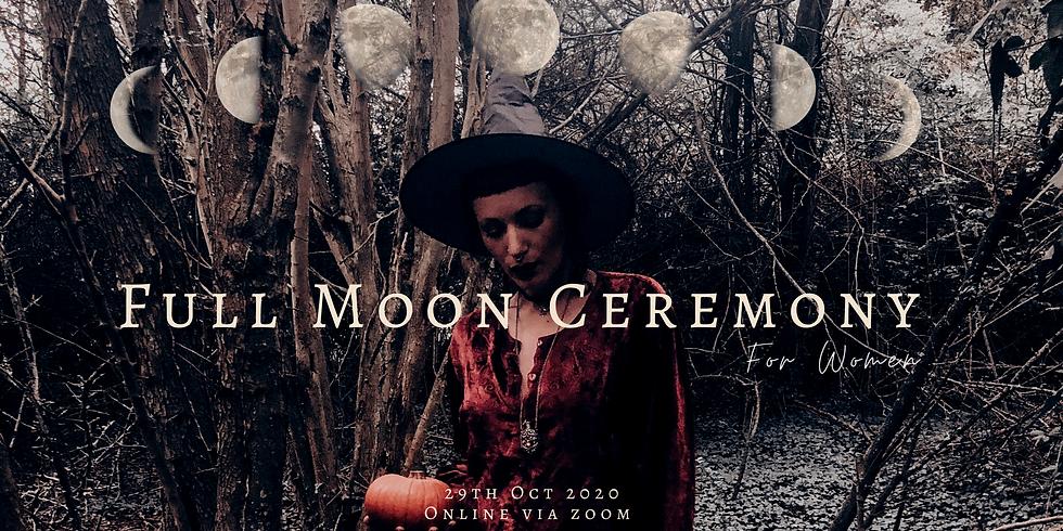 Samhain Full Moon Ceremony for Women