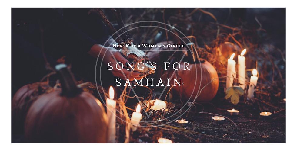 New Moon Circle for Women - songs for Samhain