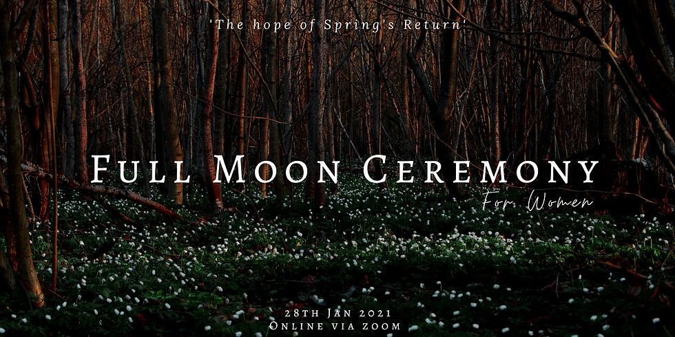 Full Moon Ceremony for Women