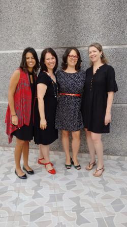 Andrea, Rhonda, Mariana, Anne