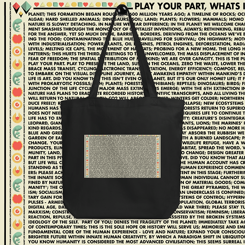 Play Your Part | Eco Tote Bag