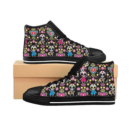Muertos Party Women's High-top Sneakers