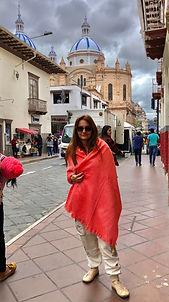 Poznávací zájezd Ekvádor Cuenca Marta Kubíková