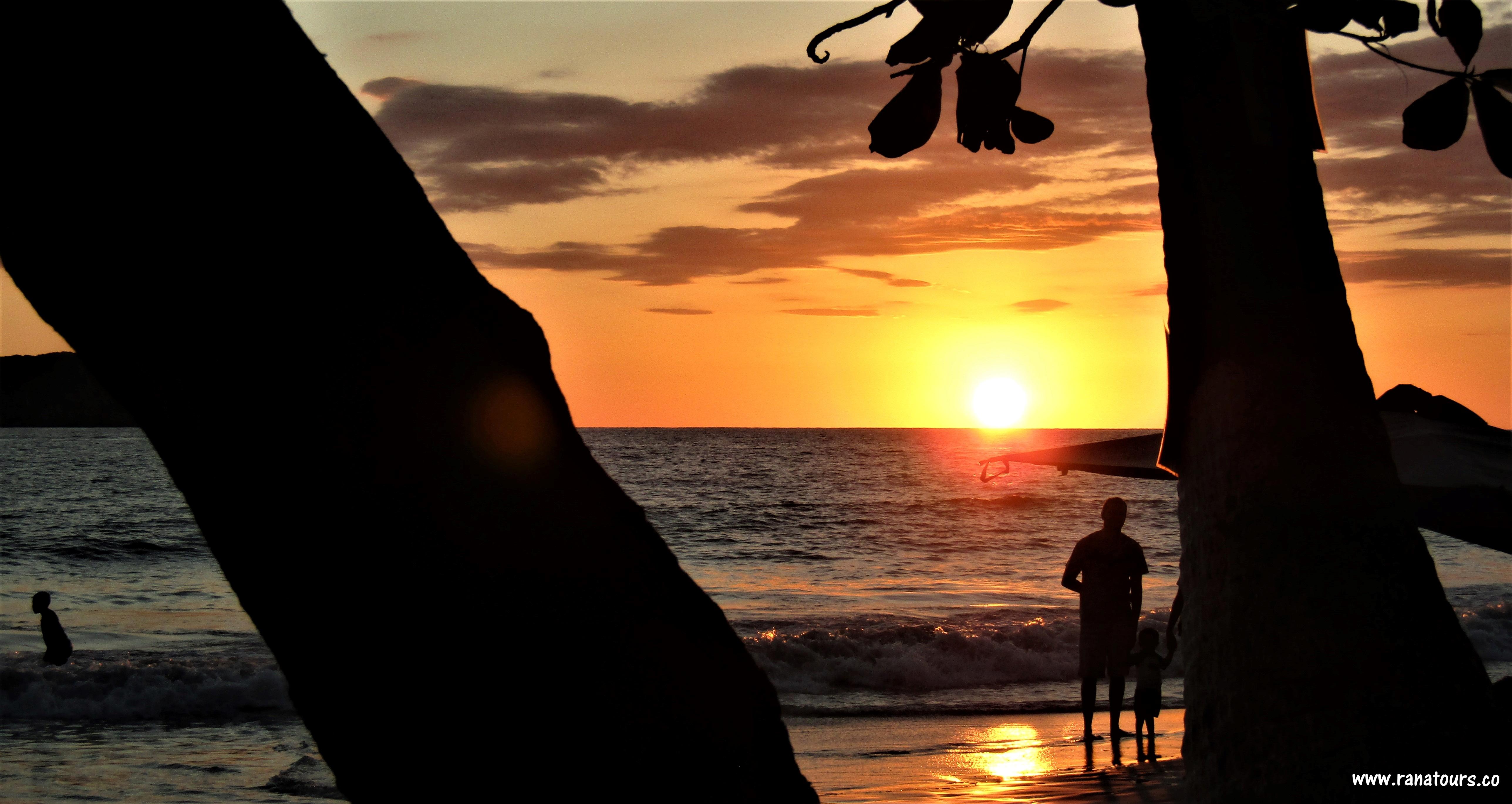 Manuel Antonio puesta del sol