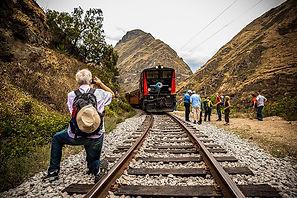 Poznávací zájezd Ekvádor vlak z Alausí