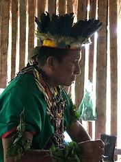 Poznávací zájezd Ekvádor Cuyabeno Amazonie šaman