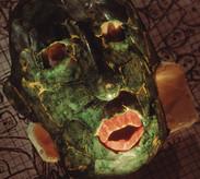 Reina Roja Máscara Funeraria