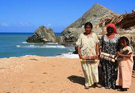 Výlet do pouště Guajira Kolumbie