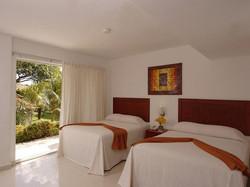 Hotel Dos Playas habitaciones