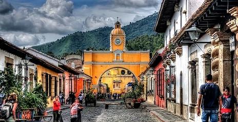 Guatemala Poznávací Zájezd Antigua