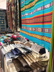 Poznávací zájezd Ekvádor tržnice Otavalo