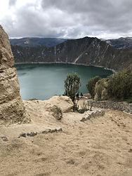 Poznávací zájezd Ekvádor laguna Quilotoa