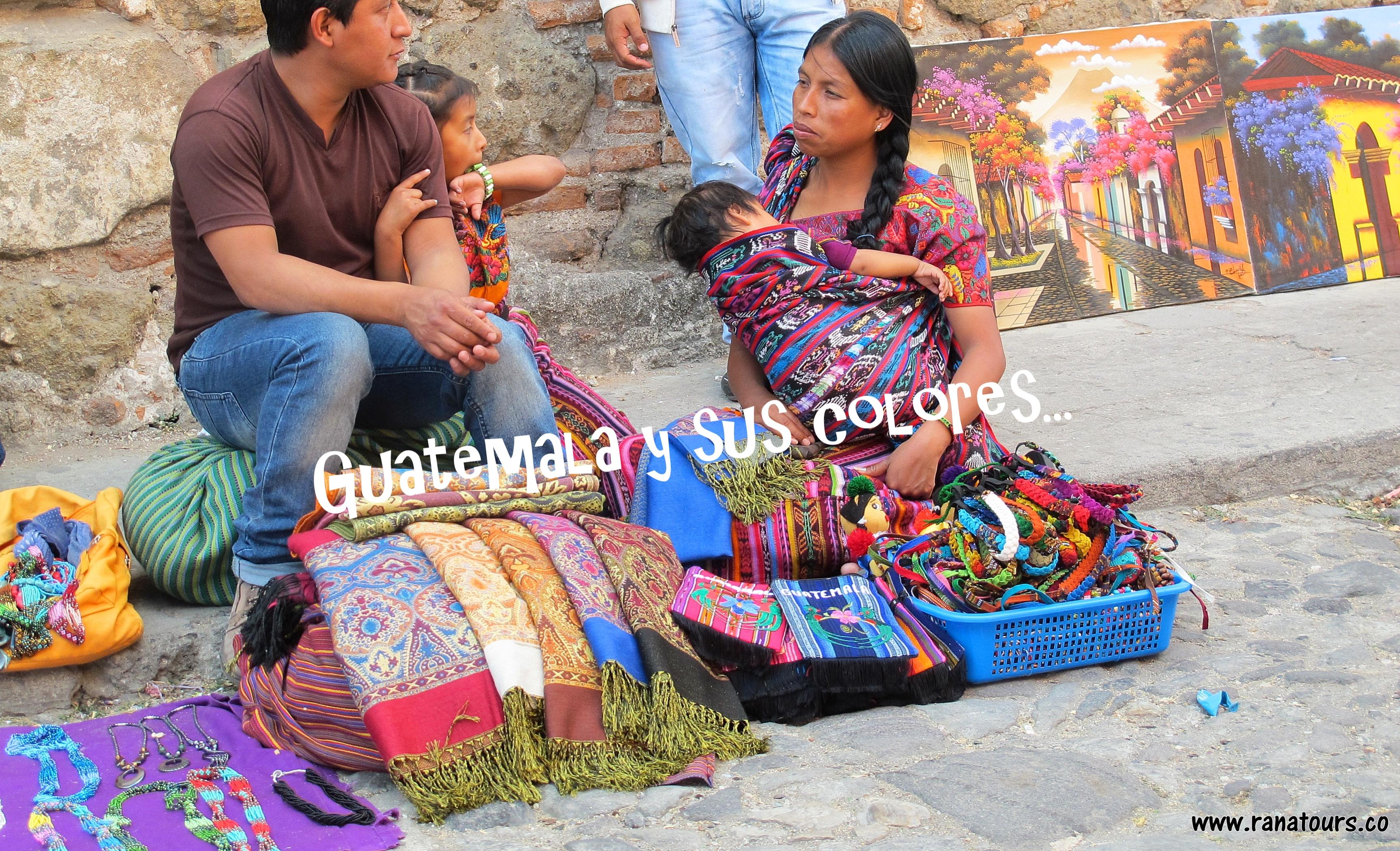Guatemala  y sus colores