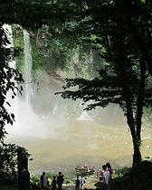 Vodopády Misol-Ha / Mexiko český průvodce / zájezd do Tikalu