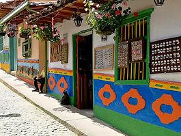 Poznávací zájezd Kolumbie monolit Guatapé