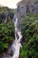 Poznávací zájezd Ekvádor Pailon del Diablo