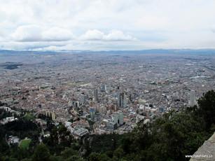 Bogotá desde Monserrate
