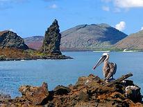 Paisaje-de-la-isla-Bartolomé-en-Galápago