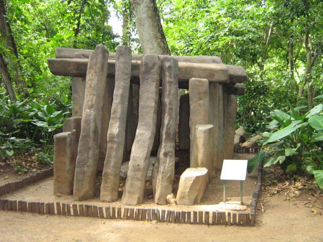 La Venta - olmécký hrob