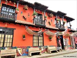 Poznávací zájezd Kolumbie Ráquira