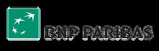 Logo de la banque BNP Paribas notre partenaire