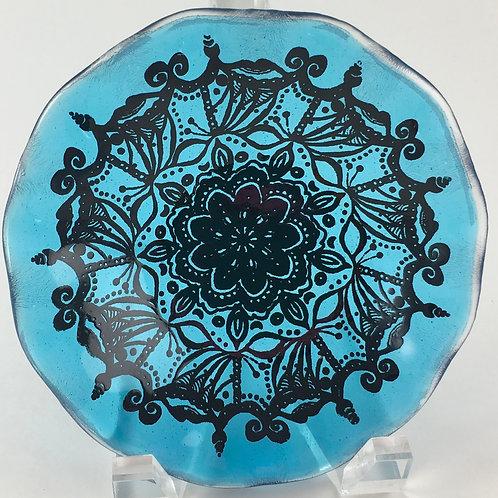 Blue Mandala ~ Wee Vessel
