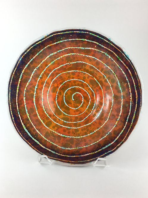 Swirl Batik Bowl~  Batik Collection