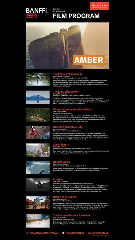Film Program: Amber
