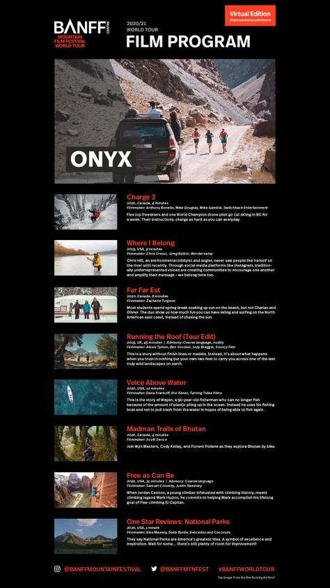 Film Program: Onyx