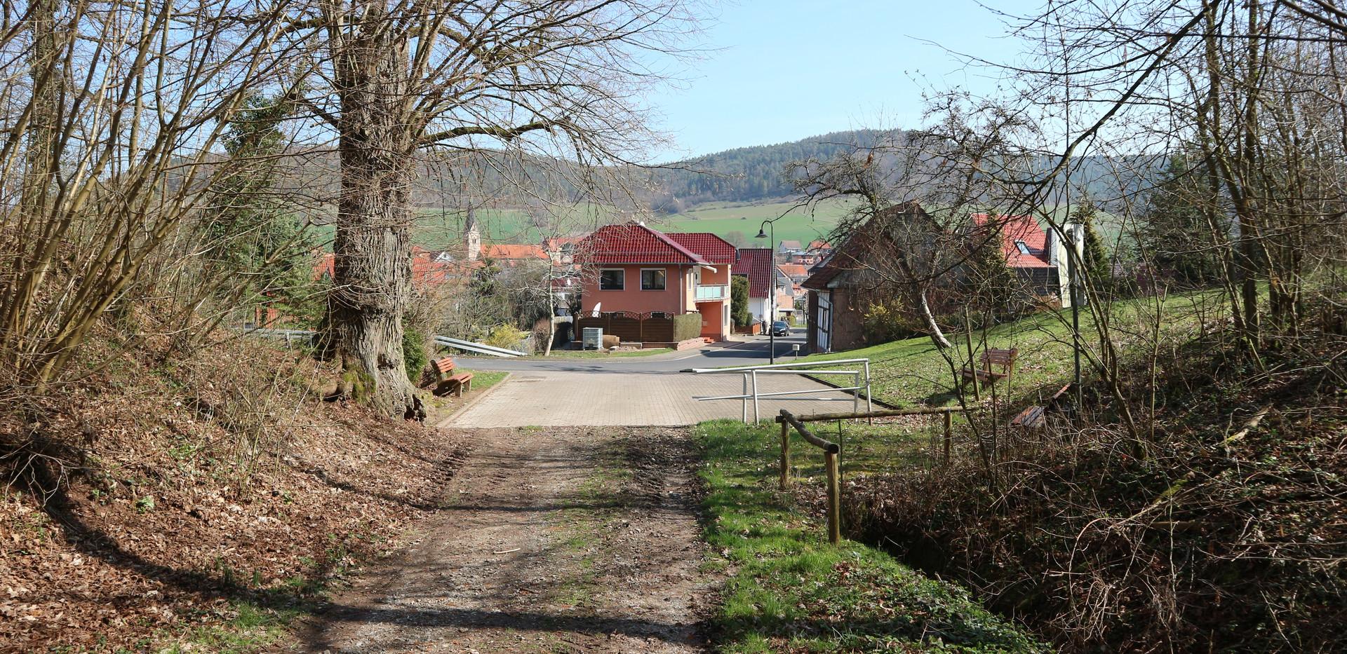 Ortseingang Geismar