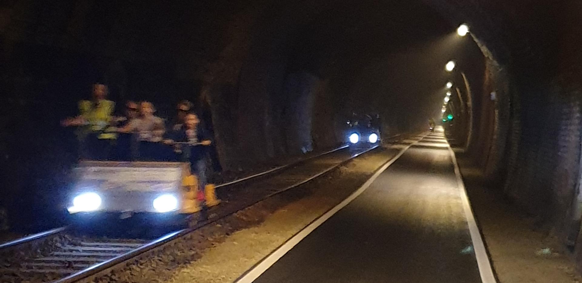 Küllstedter Tunnel Innen