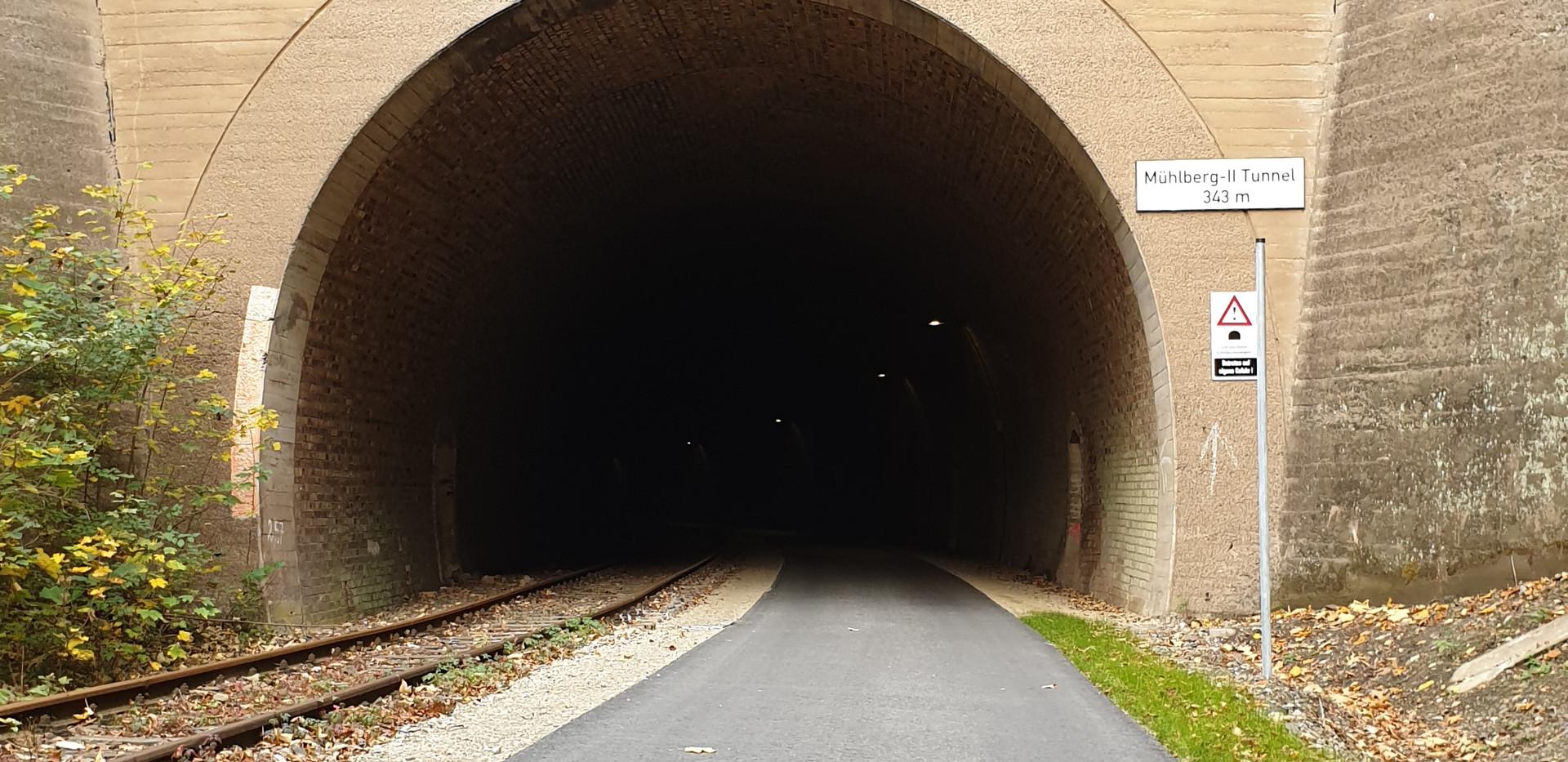 Mühlberg II Tunnel 343 Meter